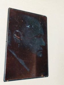 The Director Fredrick - Vintage Copper Printing Plate