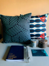 Load image into Gallery viewer, The Sommelier Jude - Cotton Printed Cushion in Tribal Print