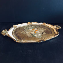Load image into Gallery viewer, The Tattooist George - Gold Small Papier Mache Tray