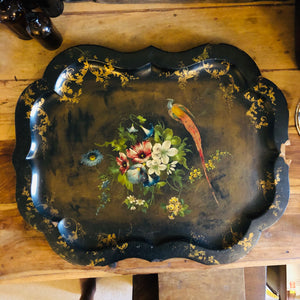 Early Victorian Paper Mache Tray