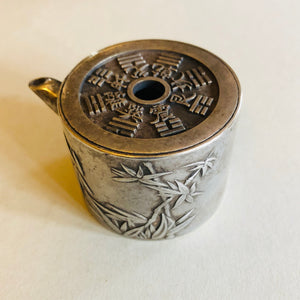 Antique Chinese Silver Water Dropper