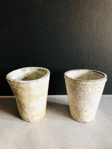 The Director Hunter - Handmade Chalky Stone Plant Pot