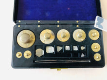 Load image into Gallery viewer, The Director Joan - Antique Laboratory Scale Weights