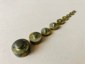 The Director Joan - Antique Laboratory Scale Weights