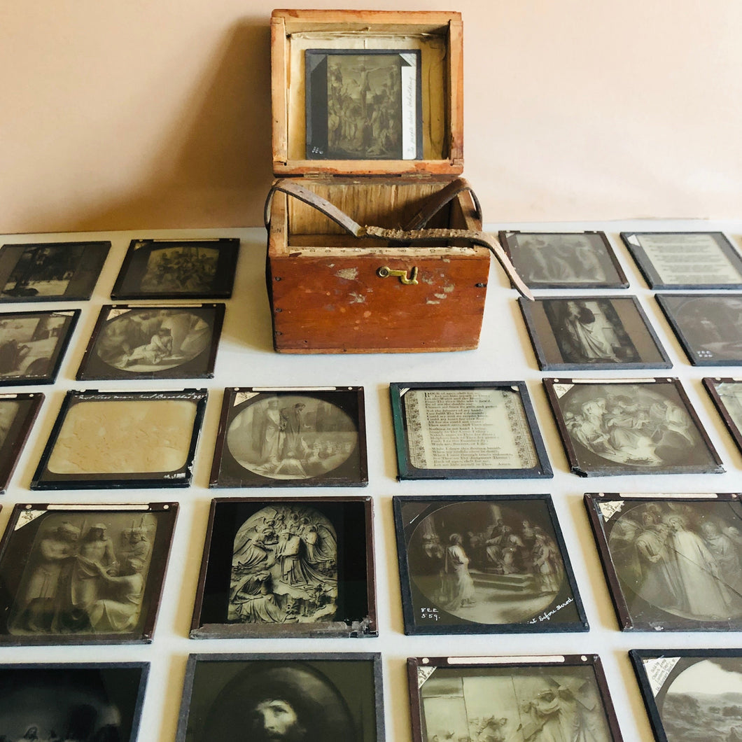 The Director Kieran - Box Of Vintage Religious Slides
