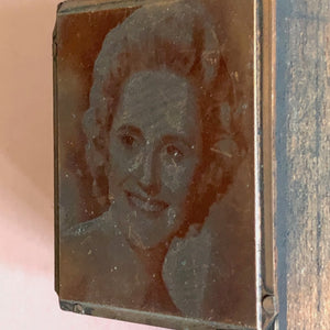 The Director Sasha - Vintage Copper Printing Plate