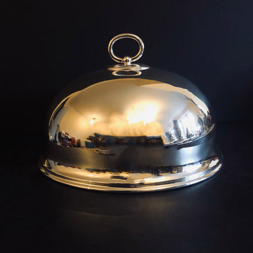 The Director Tarin - Antique Silver Cloche