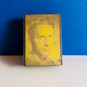 The Director Will - Vintage Copper Printing Plate
