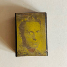 Load image into Gallery viewer, The Director Will - Vintage Copper Printing Plate