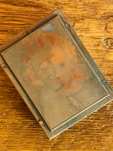 Load image into Gallery viewer, The Director Alex - Mounted Vintage Copper Printing Plate