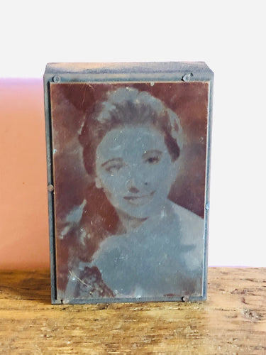 The Director Beccy - Mounted Vintage Copper Printing Plate