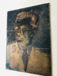 The Director Charlie - Vintage Copper Printing Plates