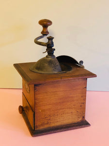 The Director Faye - Antique French Peugeot Freres Coffee Grinder