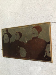 The Director Heidi - Vintage Copper Printing Plate