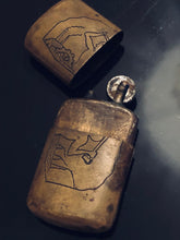 Load image into Gallery viewer, The Director Ivan - Stunning Trench Art Brass Lighter