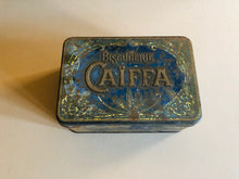 Load image into Gallery viewer, The Mixologist Kelly - Antique Metal Blue Advertising Tin