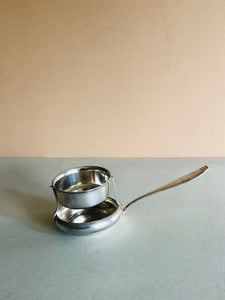 The Director Lewis - Vintage Cradle Tea Strainer