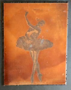 The Director Ruby - Vintage Copper Printing Plate