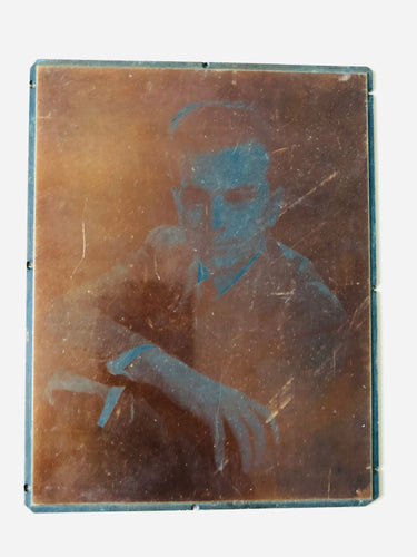 The Director Sebert - Vintage Copper Printing Plates