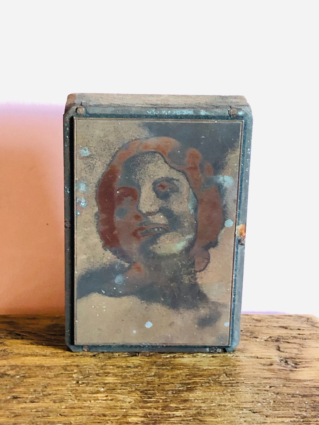 The Director Shannon - Mounted Vintage Copper Printing Plate