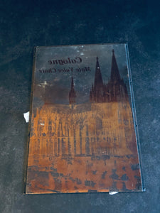 The Director Vince - Vintage Copper Printing Plate