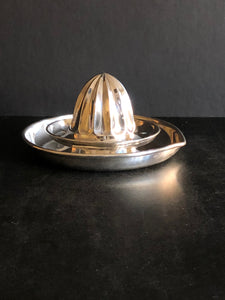 The Duchess Tom - Vintage Silver Plate Lemon Juicer