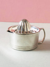 Load image into Gallery viewer, The Duchess Rae - Antique Silver Lemon Juicer with Jug