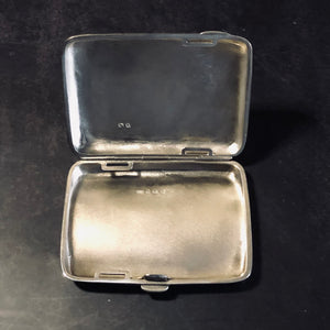 The Mixologist Shelby - Victorian Antique Silver Card Case