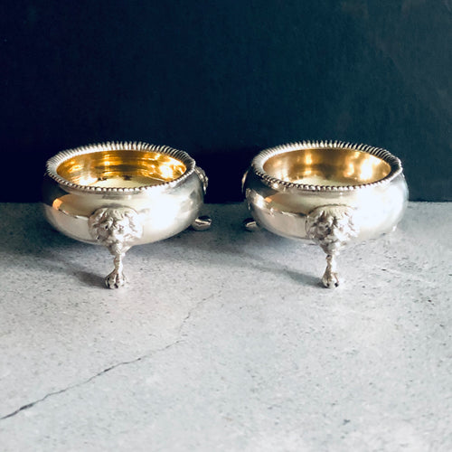 Master Brian - Large Antique Silver Saltcellar