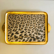 Load image into Gallery viewer, Leopard Pattern Florentine Tray