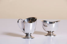 Load image into Gallery viewer, Master Meredith - Silver Plate Sugar Bowl and Cream Jug
