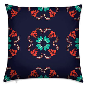 The Sommelier Alexandra - Cotton Printed Cushion in Flemish Print