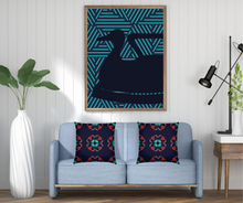 Load image into Gallery viewer, The Sommelier Alexandra - Cotton Printed Cushion in Flemish Print