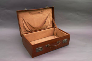 The Goth Margaret - Retro Suitcase in Vintage Leather