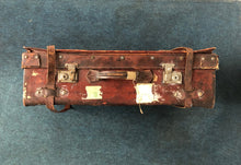 Load image into Gallery viewer, The Goth Naomi - Distressed Vintage Leather Travel Suitcase