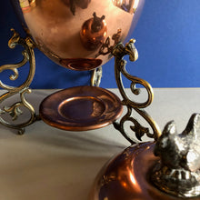 Load image into Gallery viewer, The Groom Louis - Rare Antique Copper Egg Coddler