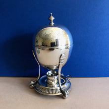 Load image into Gallery viewer, The Groom Max - Antique Silver Plated Egg Coddler with Engraving