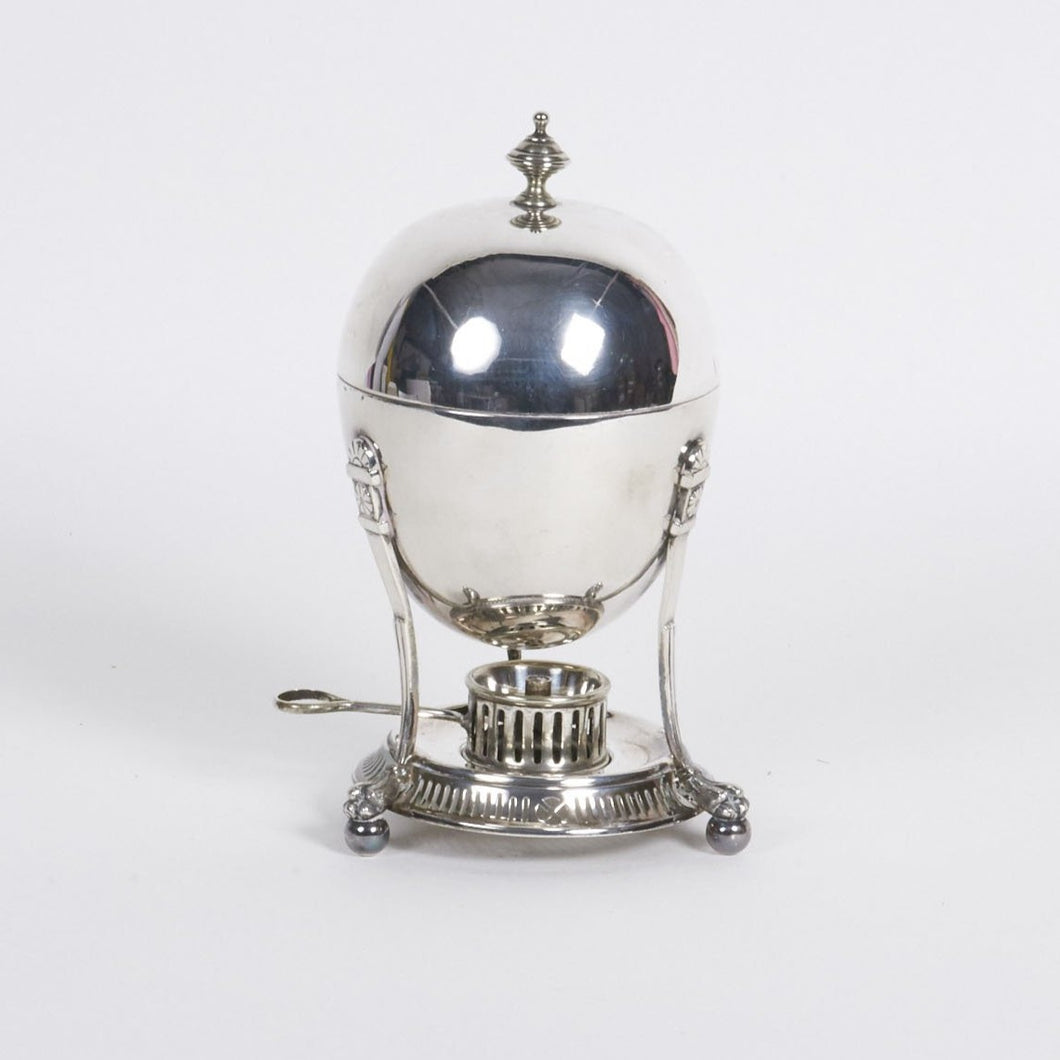 The Groom Roberto - Antique Silver Egg Coddler