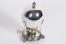 Load image into Gallery viewer, The Groom Roberto - Antique Silver Egg Coddler