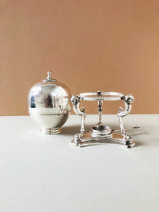 The Groom William - Luxury Antique Silver Egg Coddler