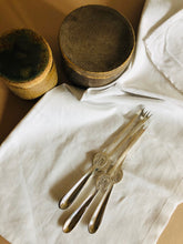 Load image into Gallery viewer, The Headhunter Ashley - Vintage Silver Plate Lobster Forks by Gero