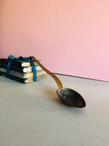 The Headhunter Jackie - Large Antique Copper Ladle