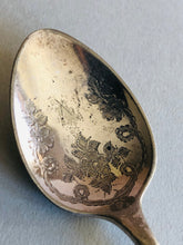 Load image into Gallery viewer, The Headhunter Carolyn - Antique Engraved Dessert / Soup Spoon
