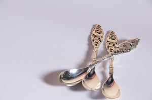 The Headhunter George - Vintage Silver Tea Spoons