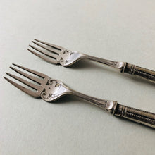 Load image into Gallery viewer, The Headhunter Rhoda - Silver Plate Fish Dinner Forks