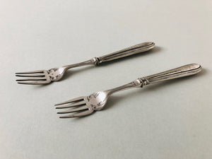 The Headhunter Rhoda - Silver Plate Fish Dinner Forks
