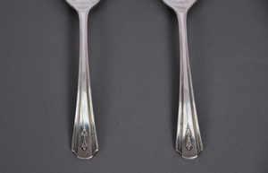 The Headhunter Rhonda - Pair of Art Deco Serving Spoons