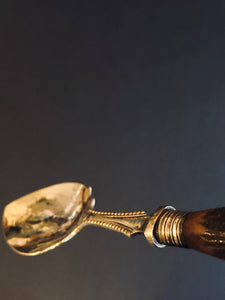 The Headhunter Samantha - Antique Silver Plate Jam Spoon