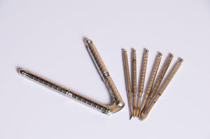 The Headhunter Shannon - Set Of Vintage Nut Picks and Nut Cracker