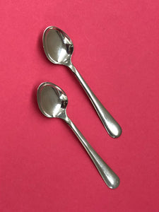 The Headhunter Sonny - Vintage Silver Coffee Spoons
